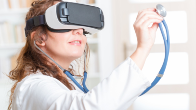 Augmented Reality (AR) and Virtual Reality (VR) in Healthcare Market