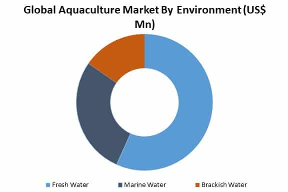 global aquaculture market by environment