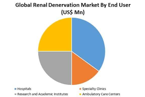 global renal denervation market by end user